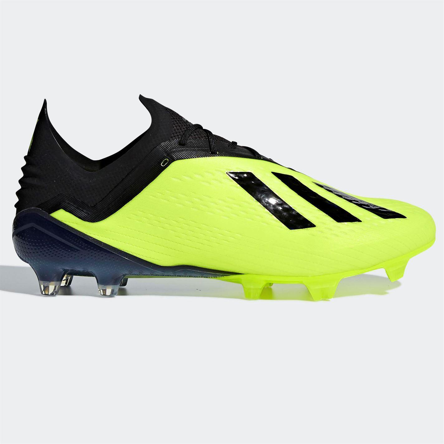 Adidas-x-18-1-FG-Firm-Ground-Chaussures-De-Football-Homme-Football-Chaussures-Crampons miniature 7