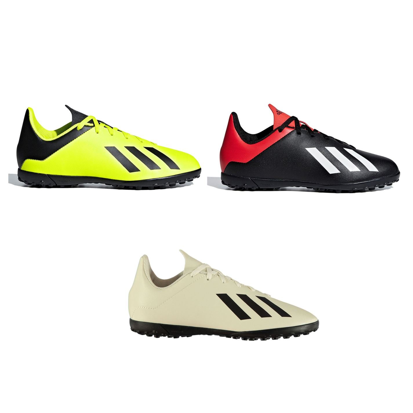 82c24119a59 adidas X Tango 18.4 Astro Turf Football Trainers Childs Soccer Shoes  Sneakers