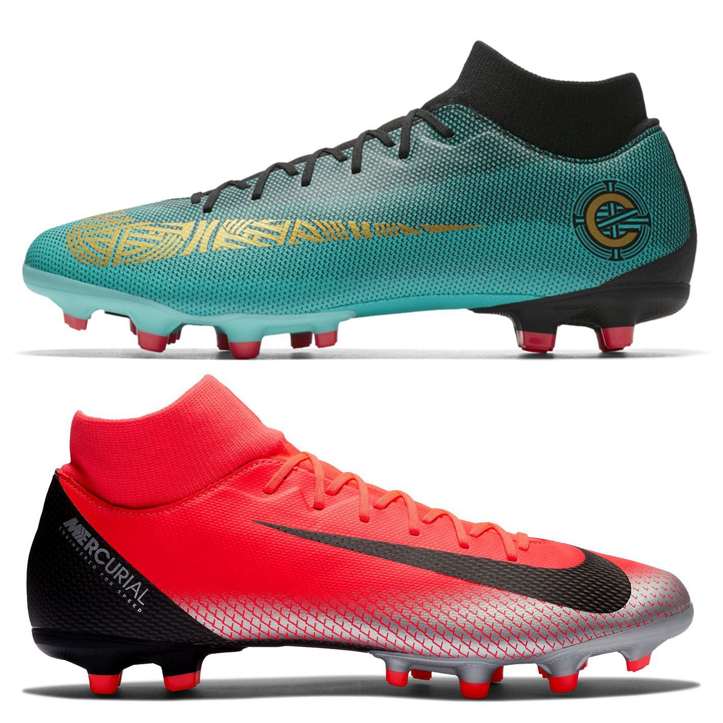 buy popular 80537 a3964 Details about Nike Mercurial Superfly Academy CR7 Firm Ground Football  Boots Mens Soccer Cleat
