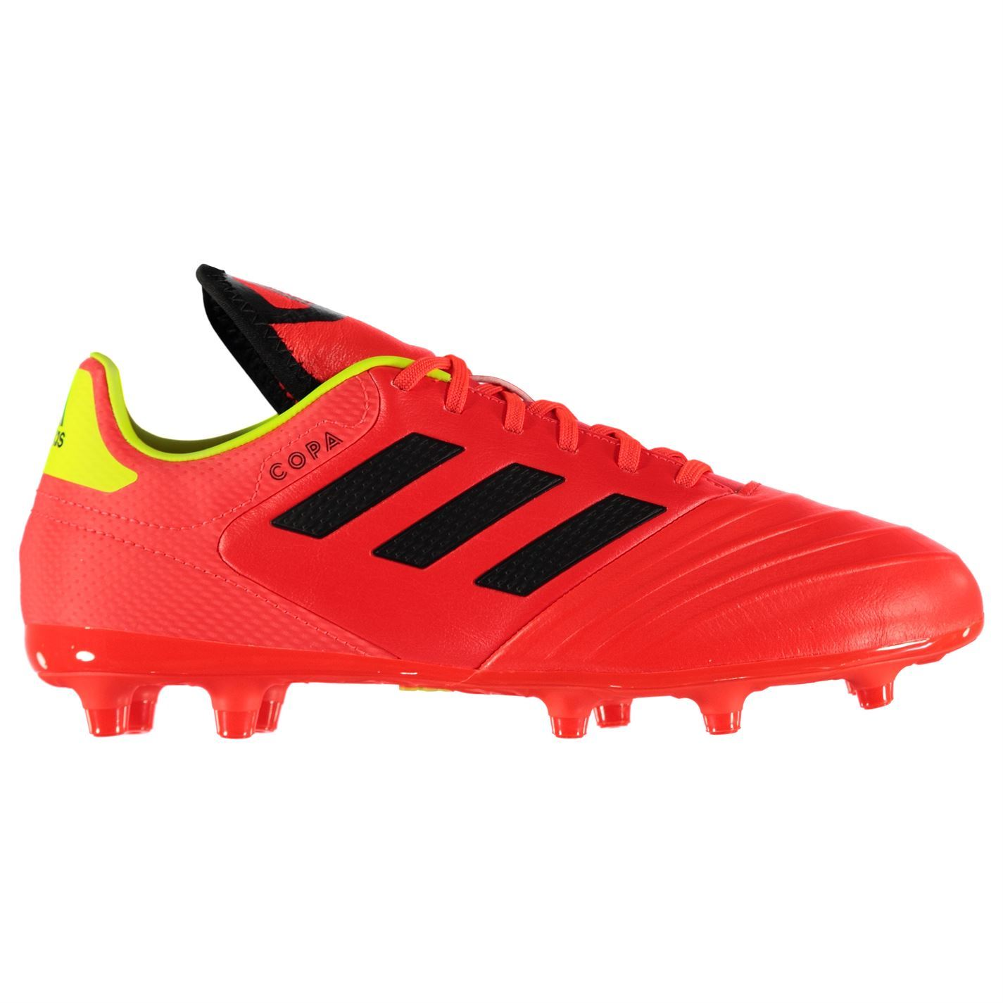 d0dc0ea433a ... adidas Copa 18.3 FG Firm Ground Football Boots Mens Red Black Soccer Shoe  Cleats ...