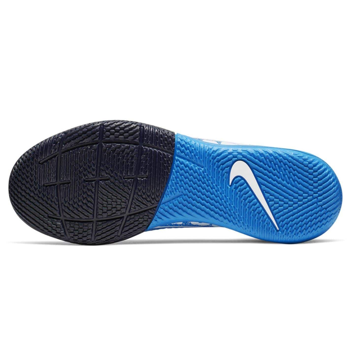 Détails sur Nike Mercurial Superfly Academy Df Intérieur Football Bottes Enfant BleuBlanc
