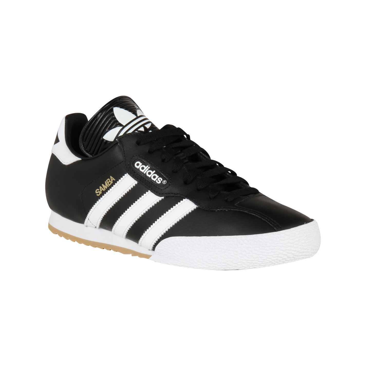 Adidas Samba Super Shoes Trainers Sneakers Sports Footwear Black/White
