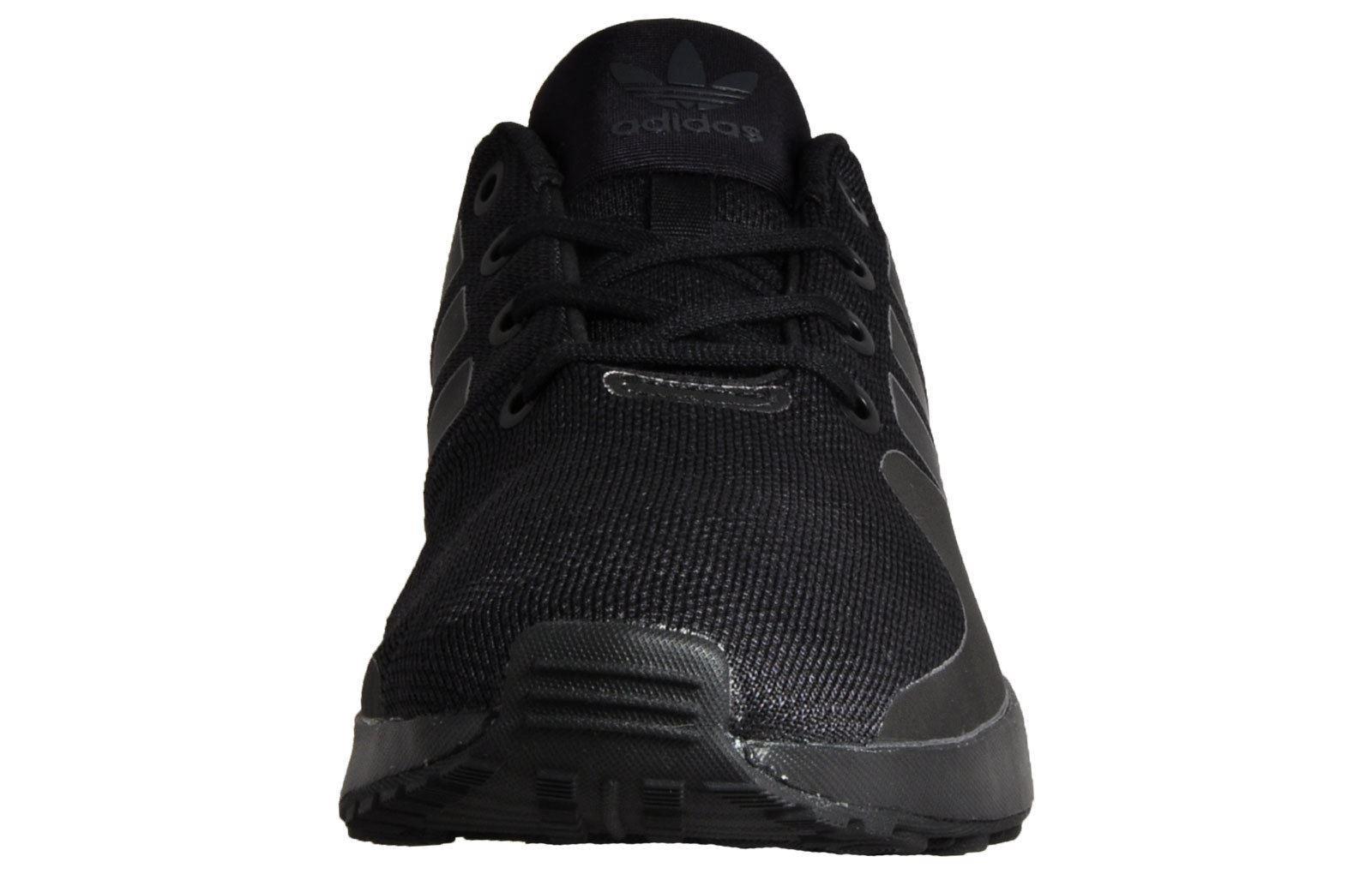 86d0a5f06 ... adidas Originals ZX Flux ADV Tech Trainers Mens Black Sneakers Shoes  Footwear
