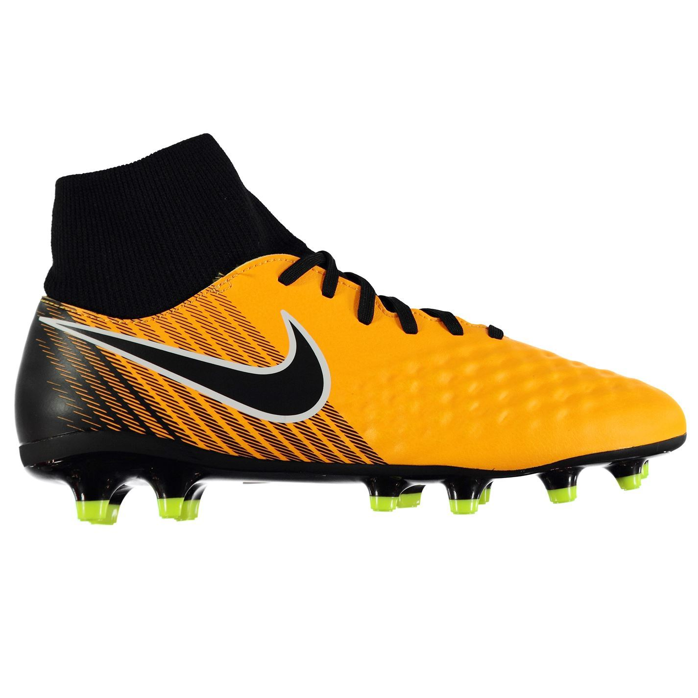 reputable site d54a1 a9bb6 ... Nike Magista Onda II Firm Ground Football Boots Juniors Orange Soccer  Cleats ...