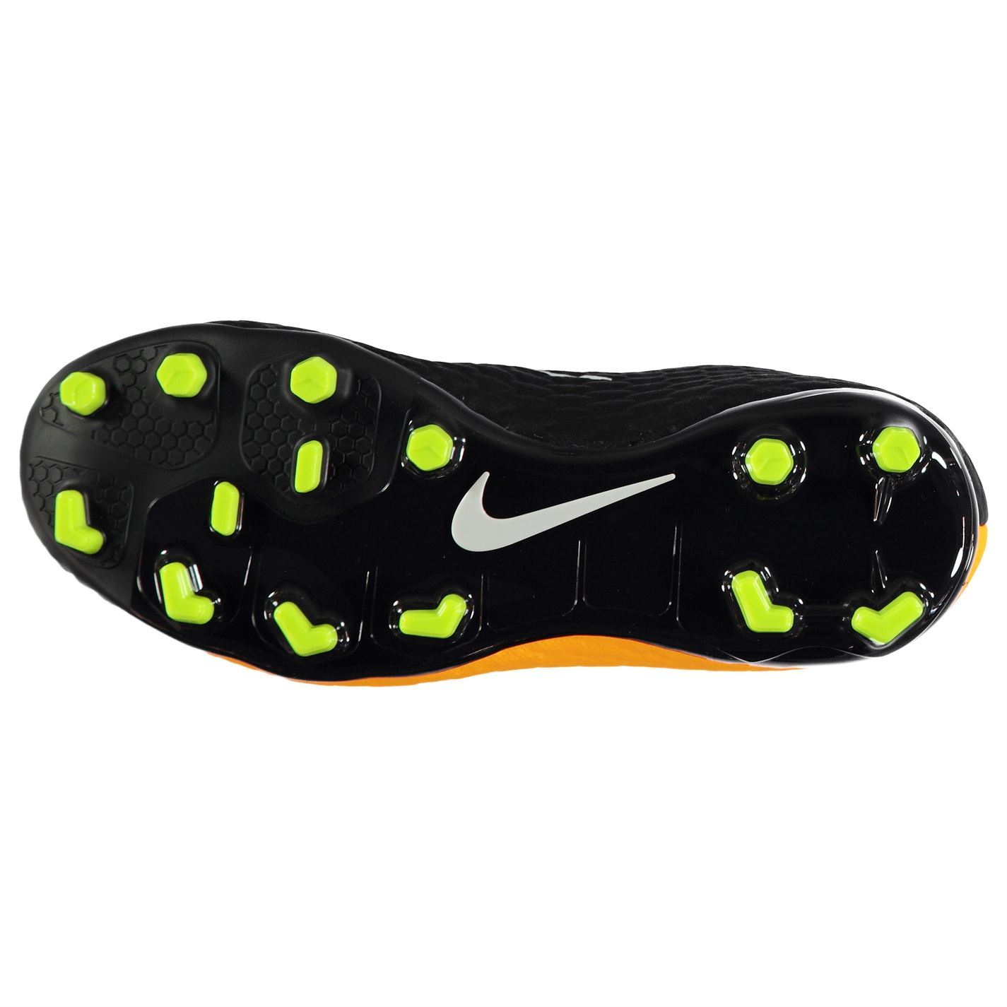... Nike Hypervenom Phelon 3 FG Football Boots Childs Orange Soccer Shoes  Cleats ... c376cc32014