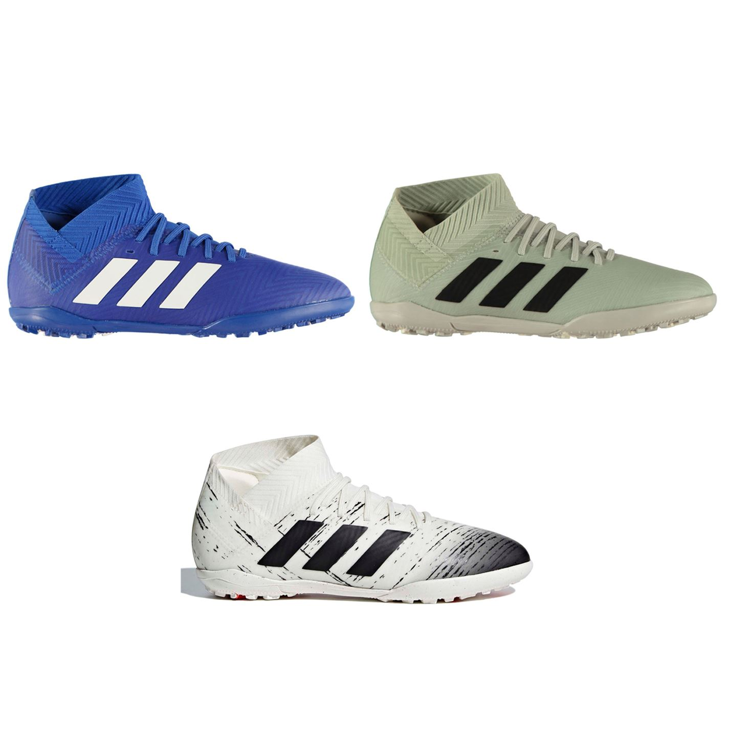 736474fd7f20b3 adidas Nemeziz Tango 18.3 Astro Turf Football Trainers Childs Soccer Shoes