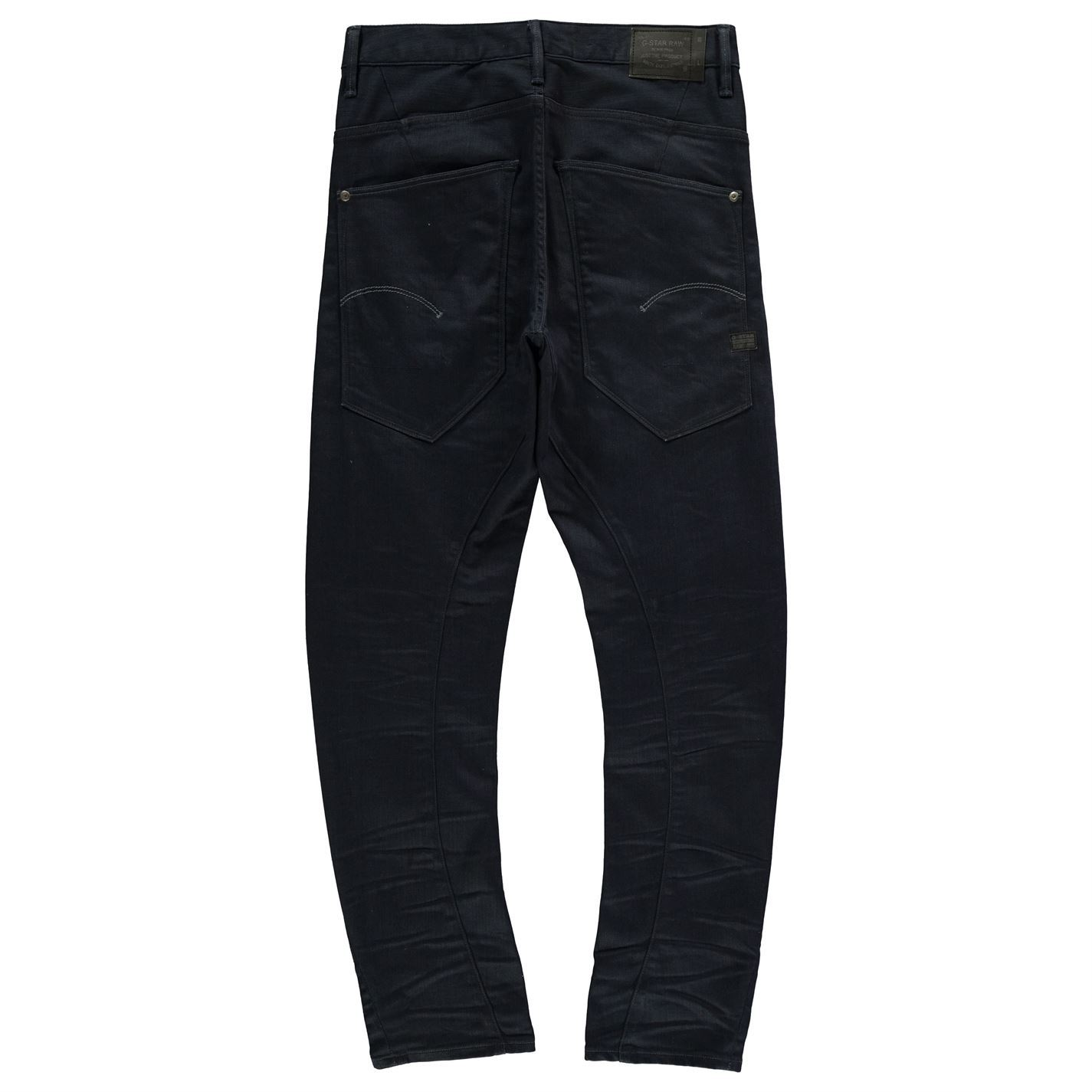 Men's Clothing Confident Jeans Denim G Star Raw Type C 3d Loose Tapered Coloured Mens Trouser Pants Blue