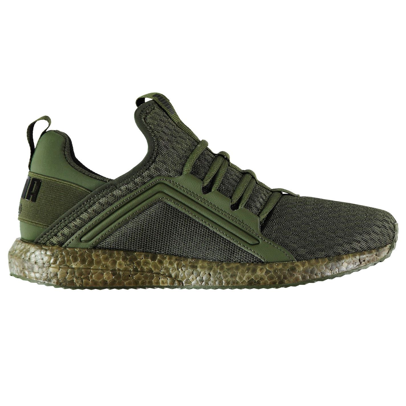 18124a2681fe czech puma mega nrgy running shoes mens green black jogging trainers  sneakers d1d4b 4a23e