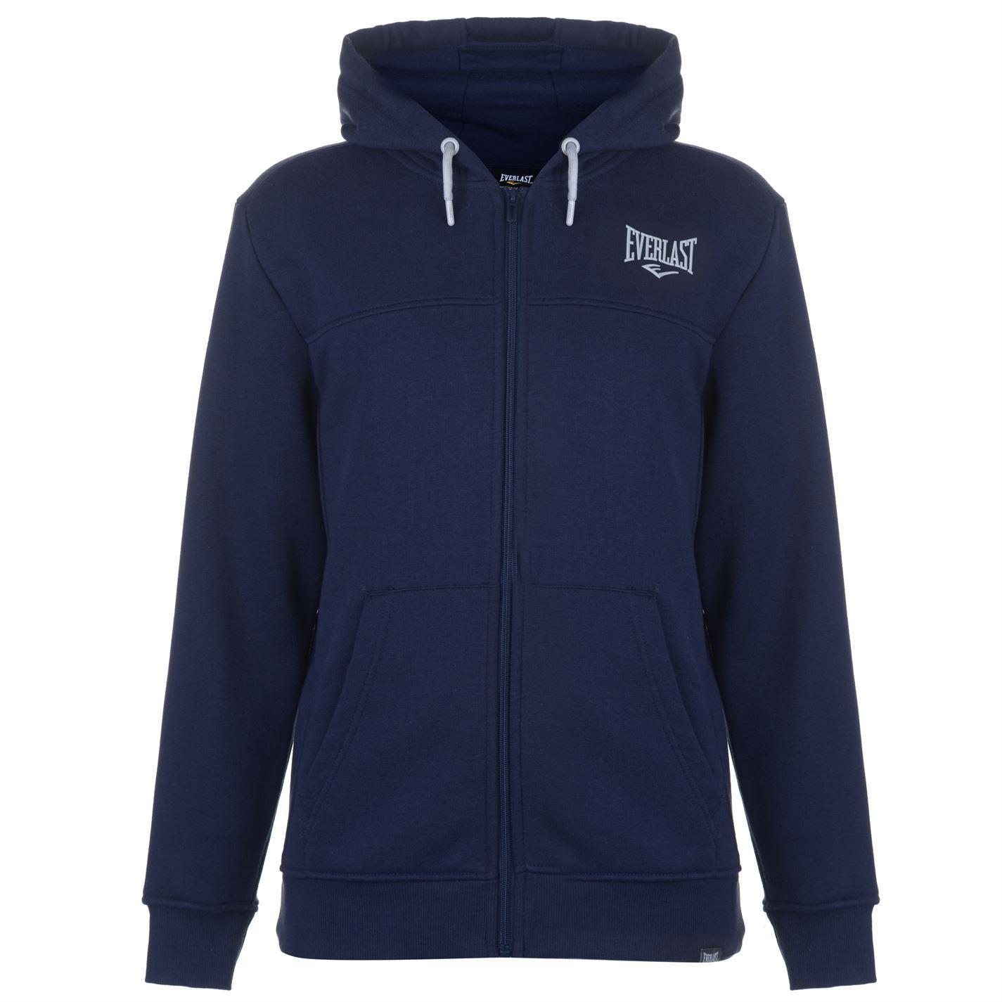 Everlast-Logo-Full-Zip-Hoody-Jacket-Mens-Hoodie-Sweatshirt-Sweater-Hooded-Top thumbnail 14