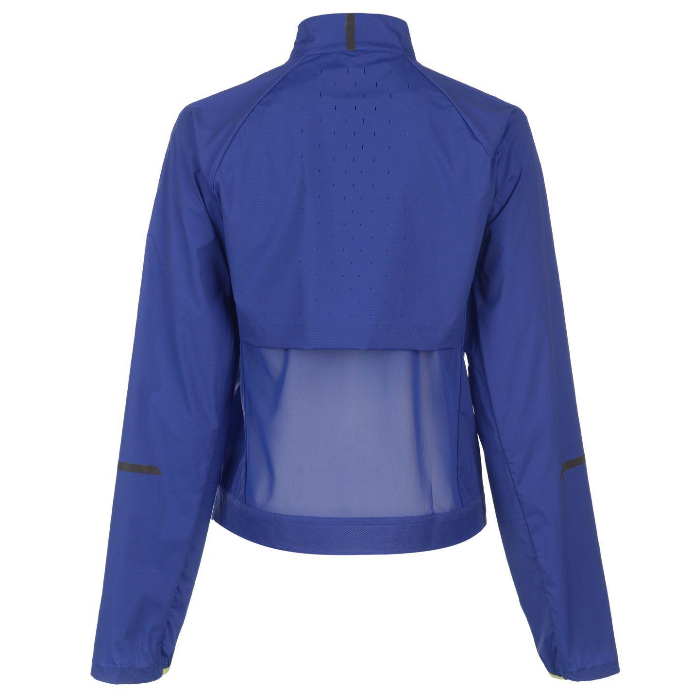 Damen Jogging Oberteil Laufjacke Präzision Blau Fitness Zu Details New Balance vbfm6IY7gy