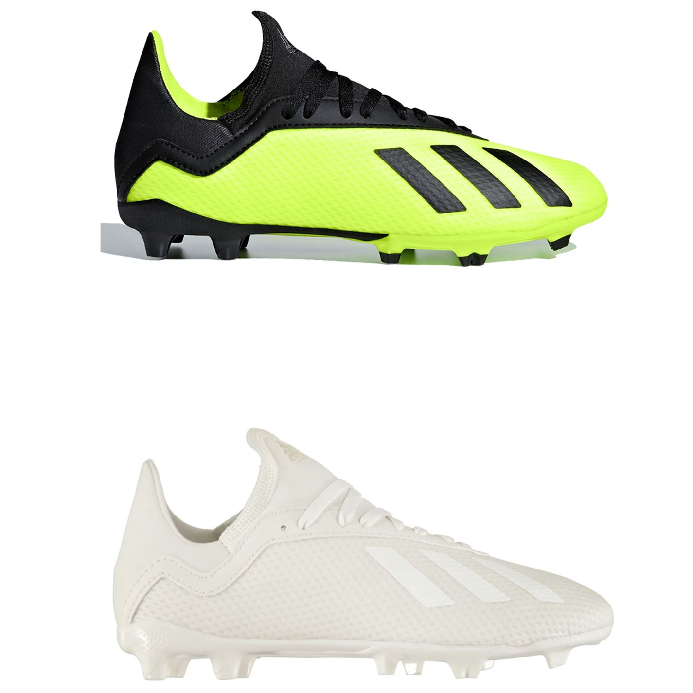 reputable site 8f51b 61556 Details about adidas X 18.3 FG Firm Ground Football Boots Childs Soccer  Shoes Cleats