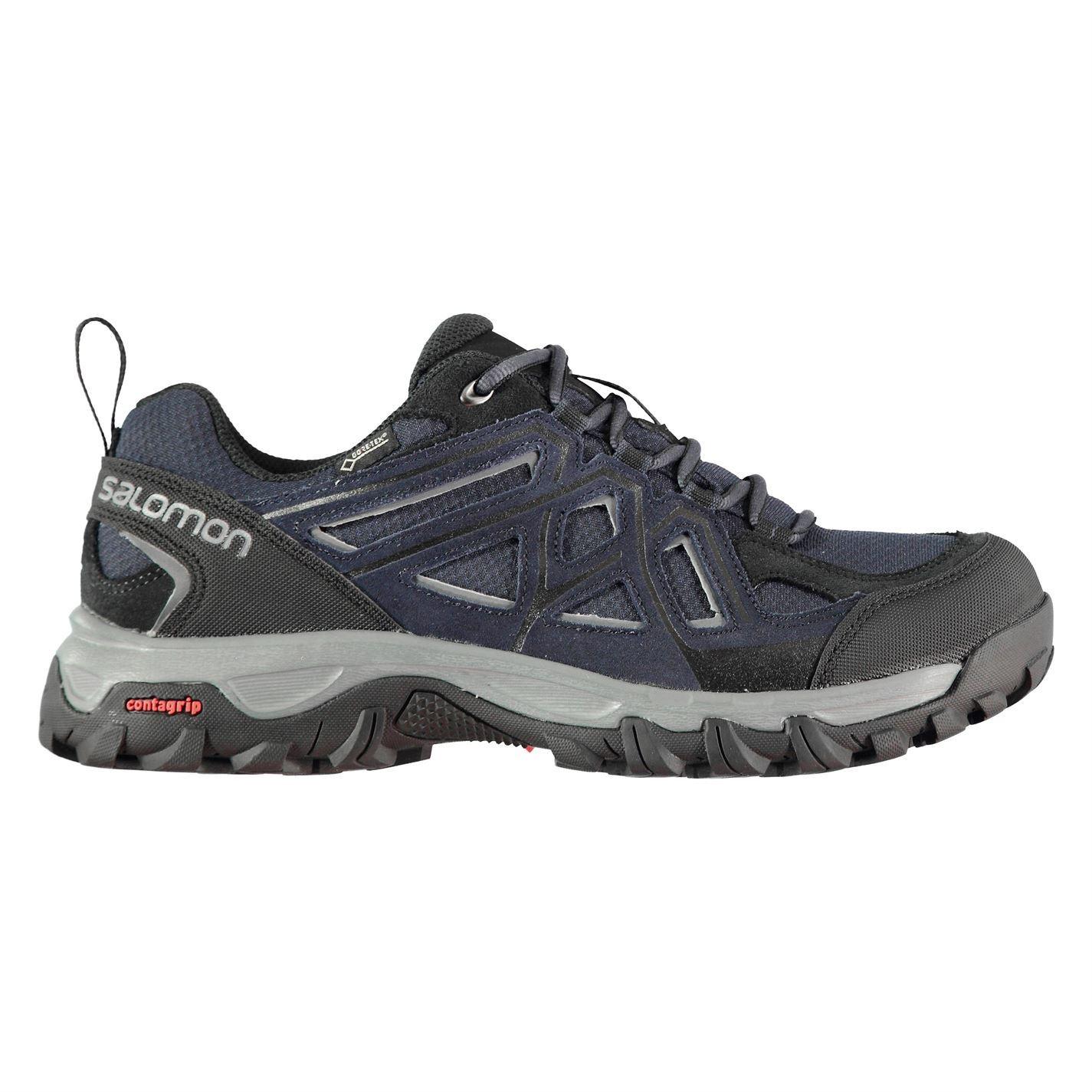 Details about Salomon Evasion 2 GTX Walking Shoes Mens Grey Hiking Footwear Boots
