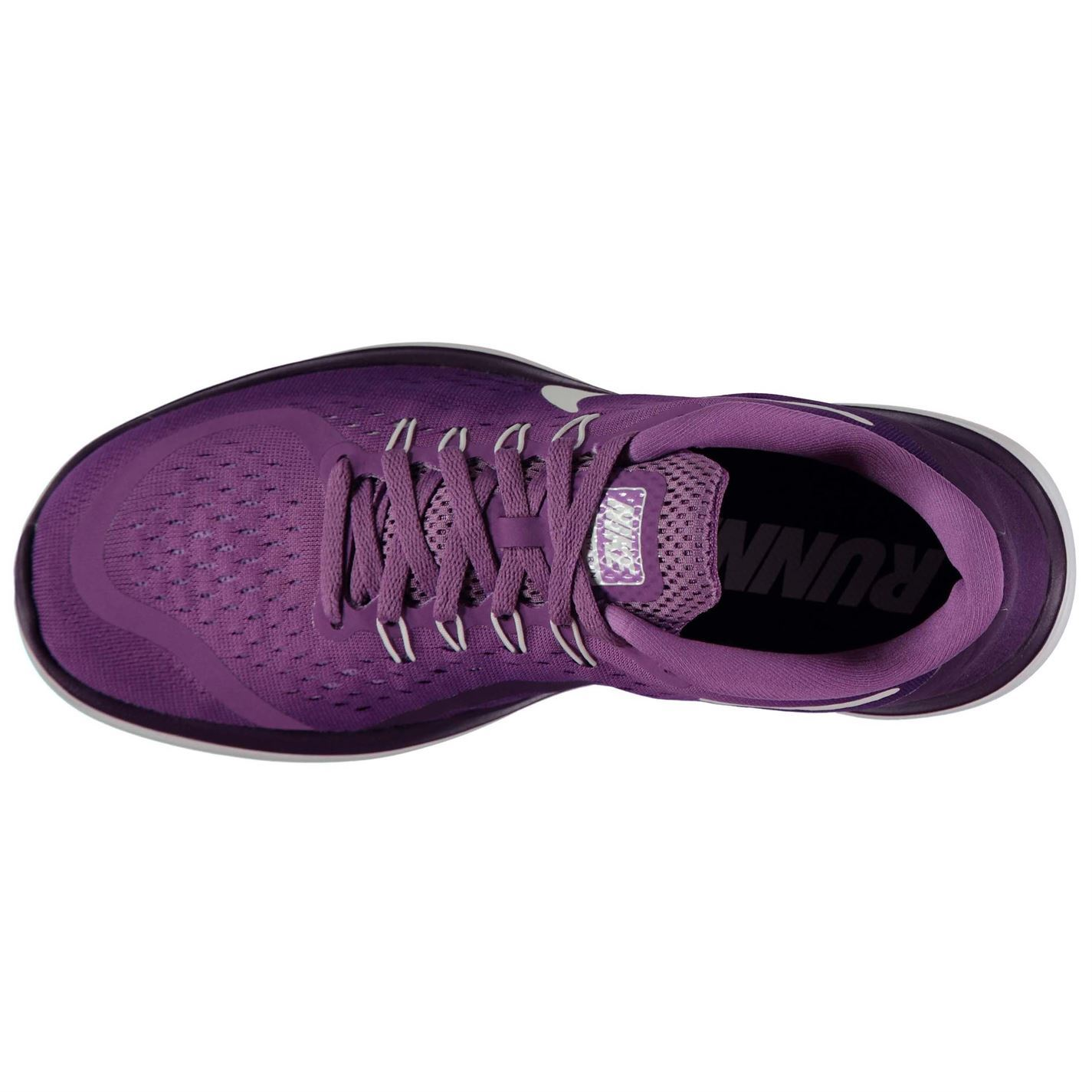 308cedb52894 ... Nike Flex 2017 Running Shoes Womens Purple White Run Jogging Trainers  Sneakers