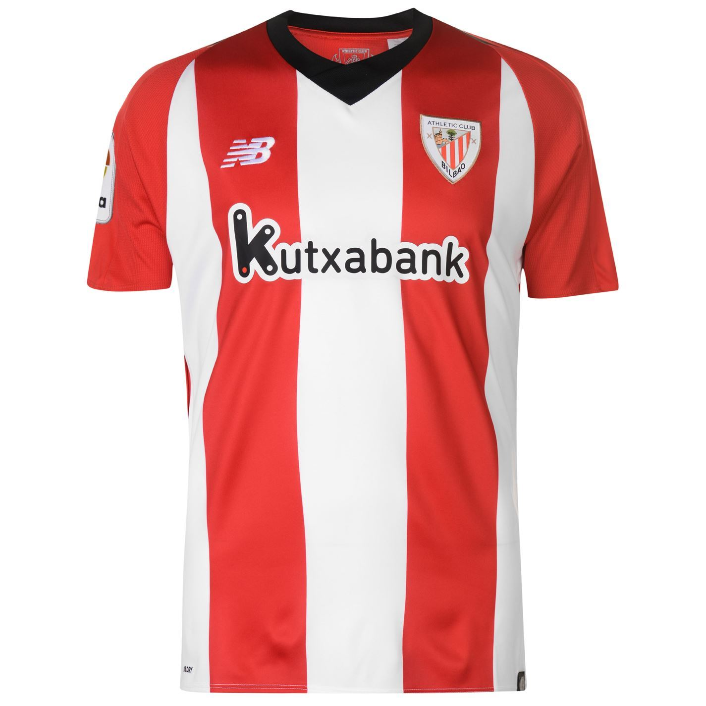 8b4b872ef783f Details about New Balance Athletic Bilbao Home Jersey 2018-19 Mens Red  Football Soccer Shirt