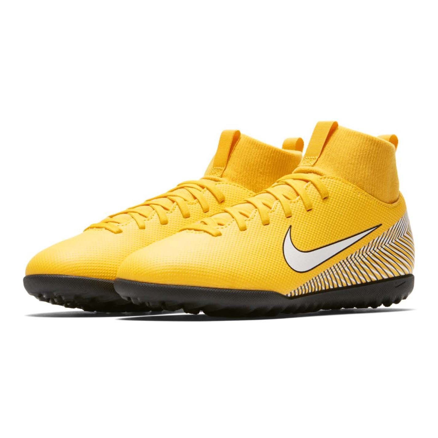 a3f39431d488 Details about Nike Mercurial Superfly Club Neymar Astro Football Trainers  Junior Yellow Soccer
