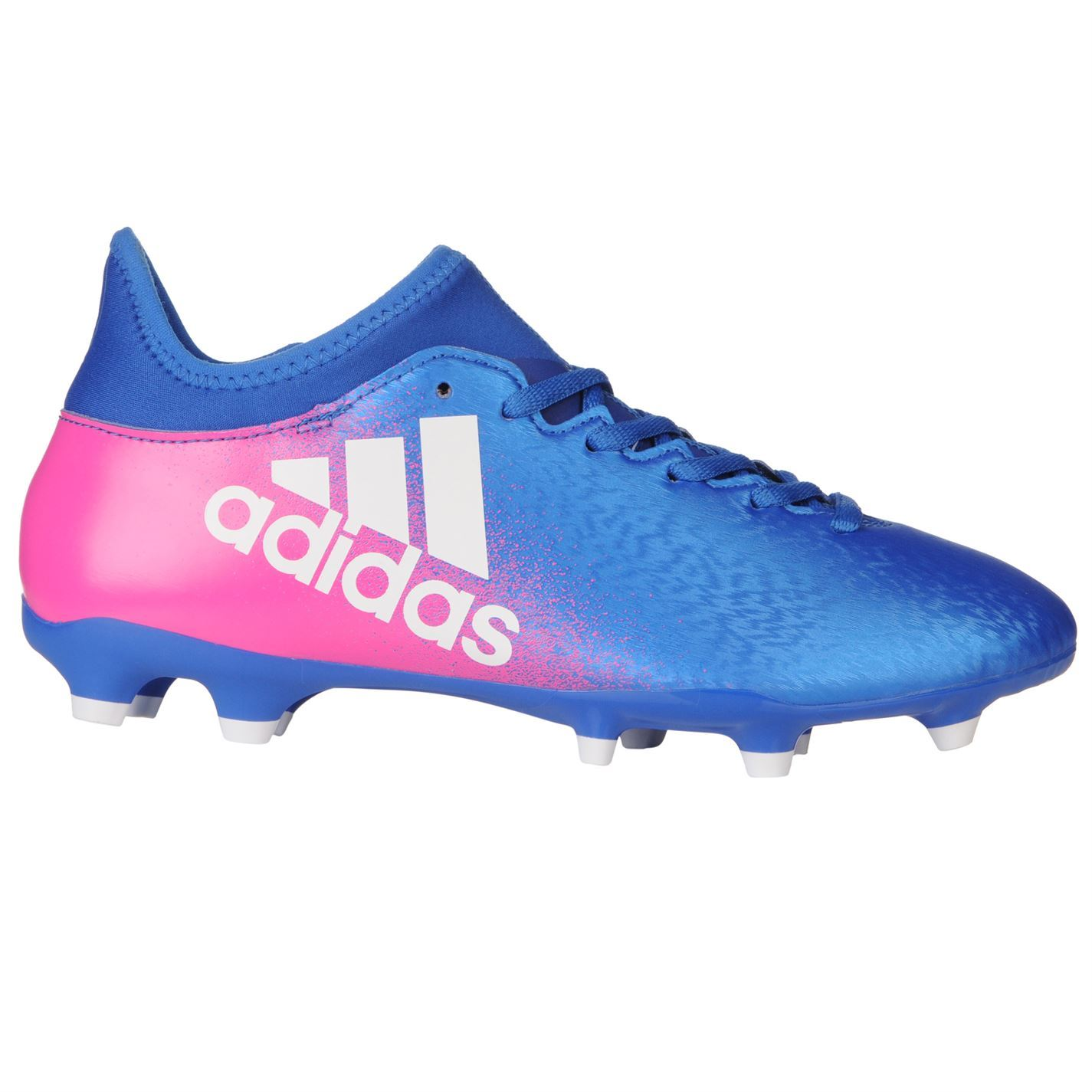 ac91804a152 ... adidas X 16.3 FG Firm Ground Football Boots Mens Blu Wht Pnk Soccer  Cleats ...