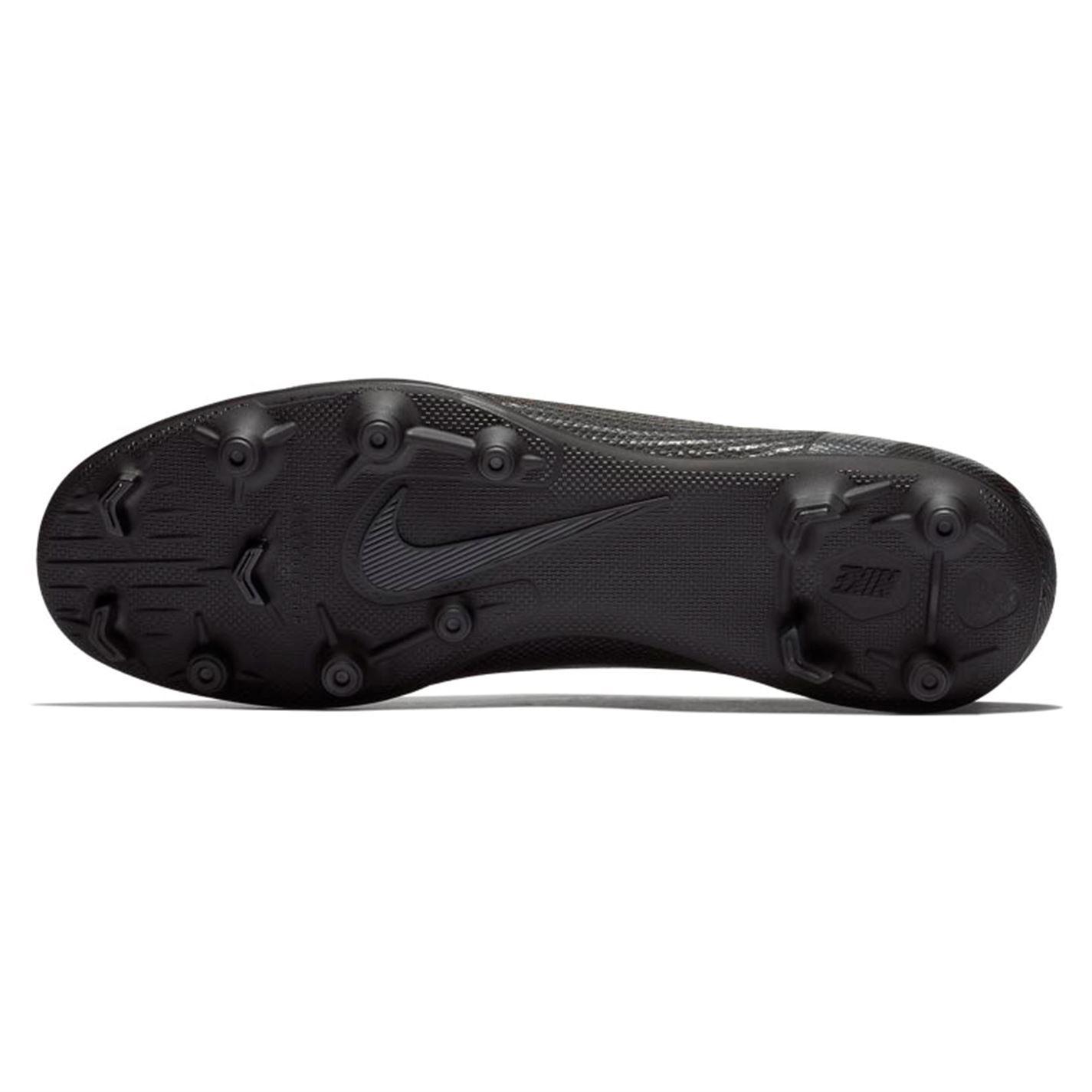 sports shoes cbf46 2c086 ... Nike Mercurial Vapor Club FG Firm Ground Football Boots Mens Black  Soccer Cleats ...