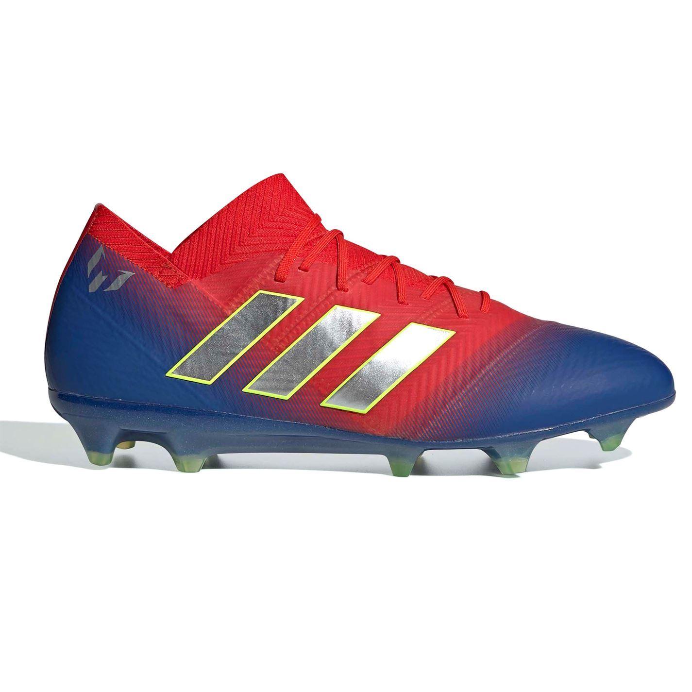 Détails sur Adidas nemeziz Messi 18.1 FG Firm Ground Chaussures De Football Homme Football Chaussures Crampons afficher le titre d'origine