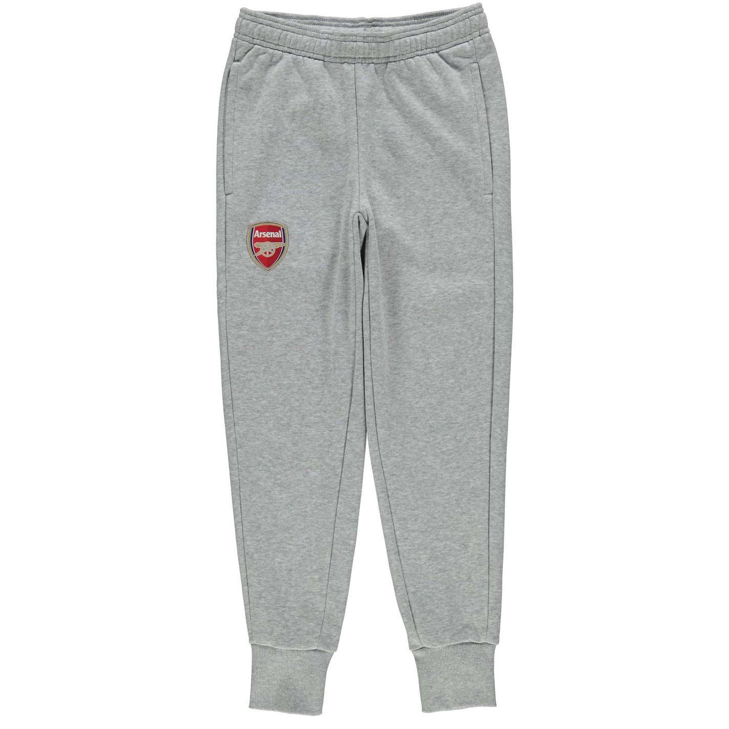 ac6dcbe537a9 ... Puma Arsenal Sweat Pants Juniors Grey Football Soccer Track Bottoms ...
