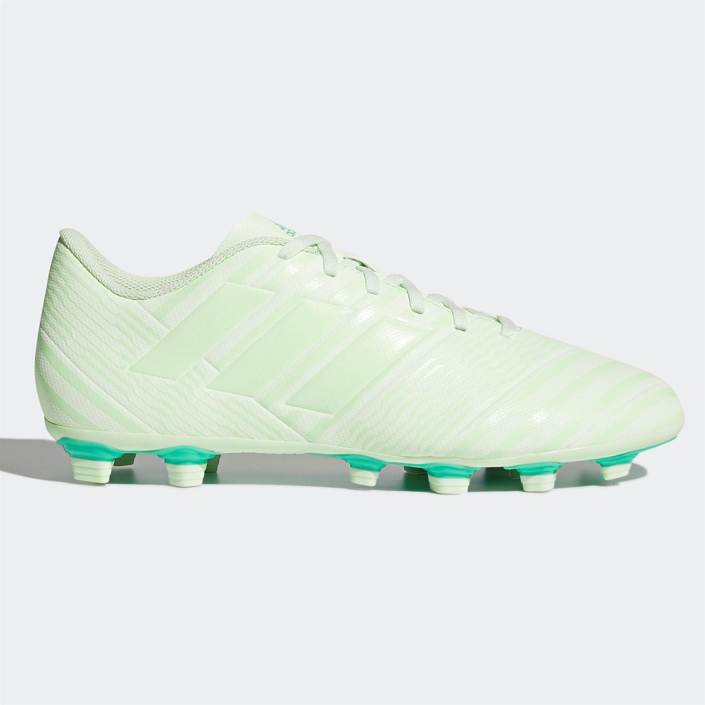 d87278b8d adidas Nemeziz 17.4 FG Firm Ground Football Boots Mens Green Soccer Shoes  Cleats
