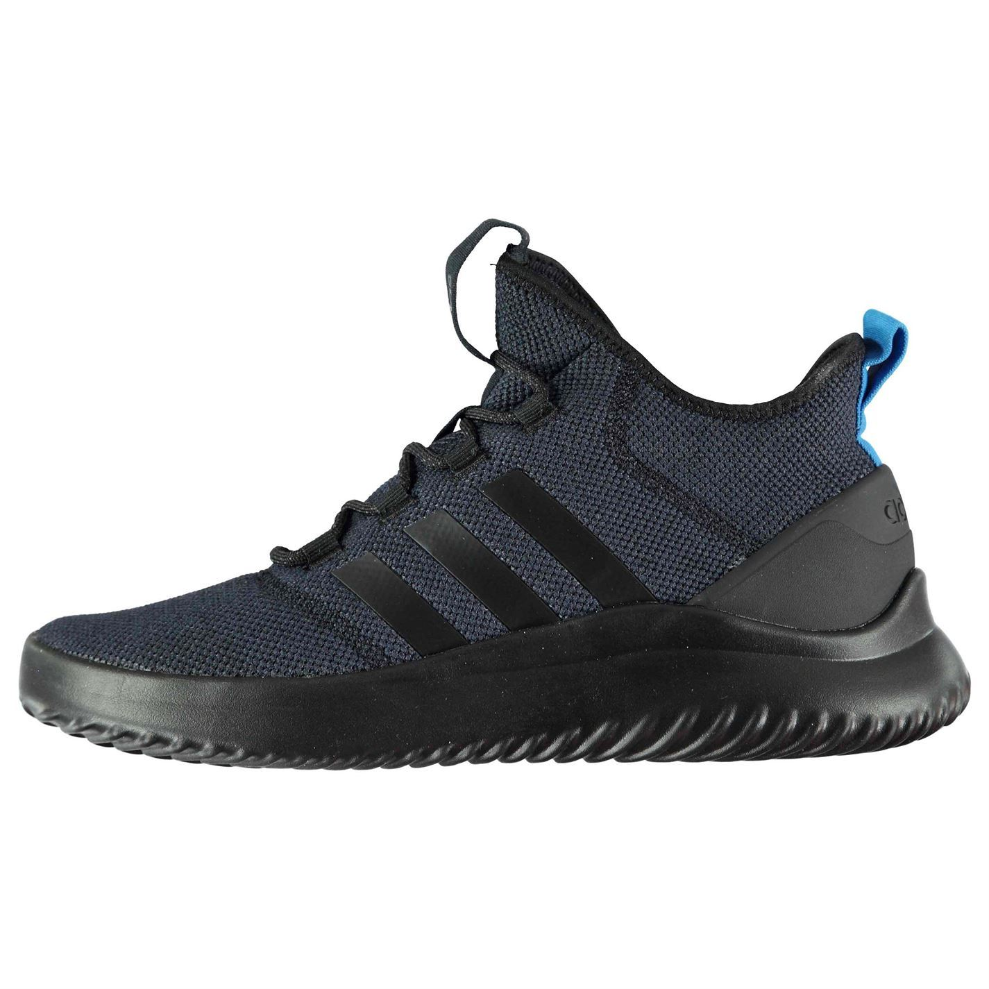 lowest price 807dc c4be1 adidas Cloudfoam Ultimate Basketball Shoes Mens Black Trainers Sneakers