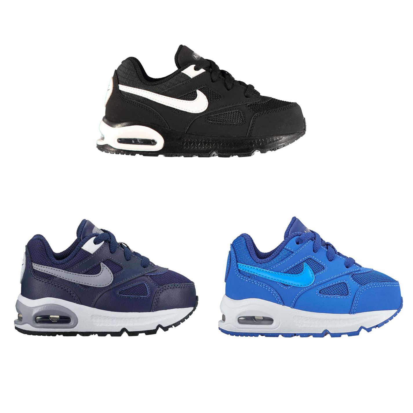 new york 941ae c9d2a Details about Nike Air Max Ivo Infant Boys Trainers Shoes Footwear
