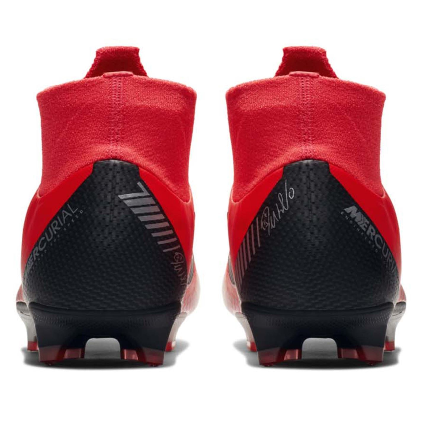 3bbeeaa55a9 Nike Mercurial Superfly Pro CR7 Firm Ground Football Boots Mens Red Soccer  Cleat
