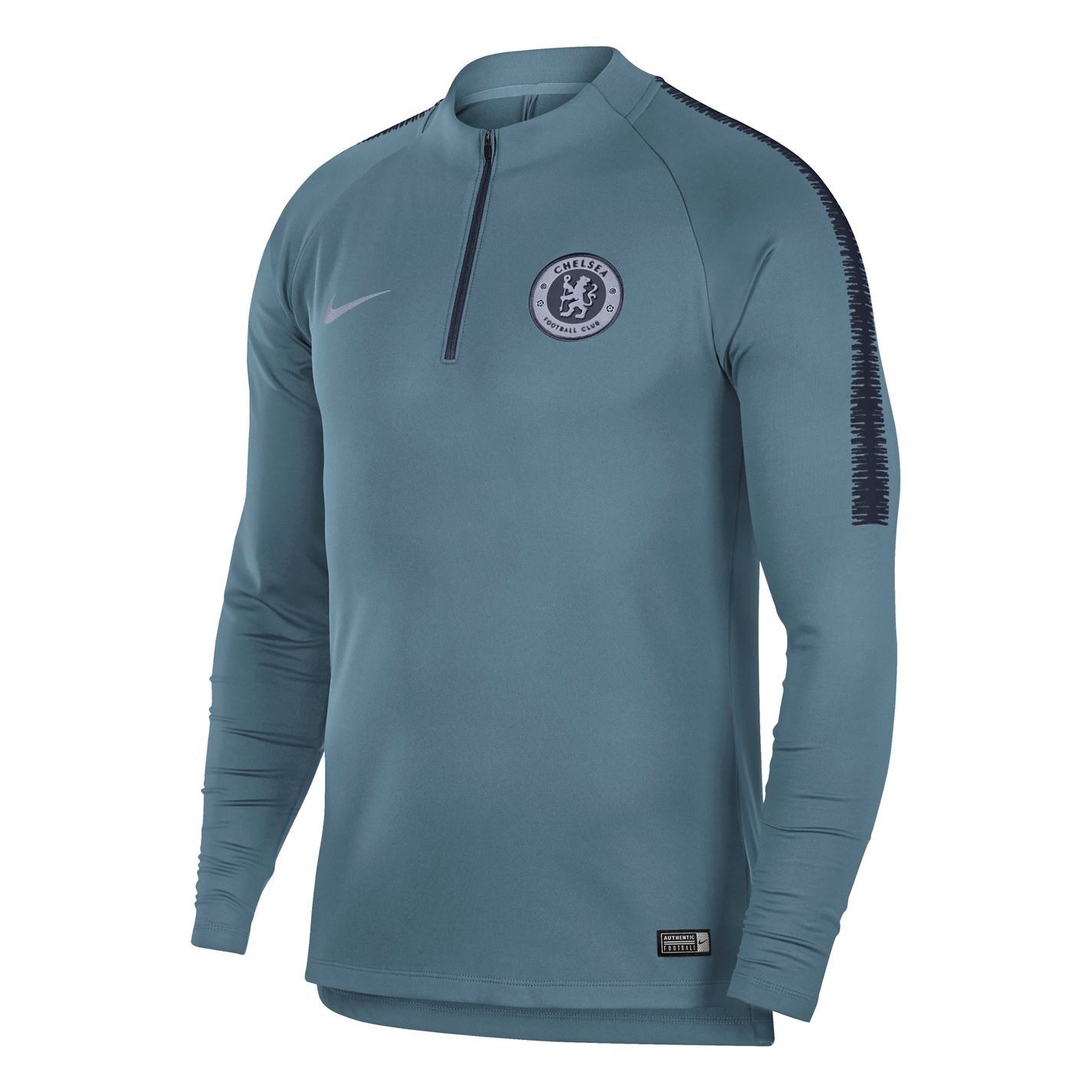 7dadf7296 Nike Chelsea Squad Drill Top 2018 2019 Mens Football Soccer Sweatshirt