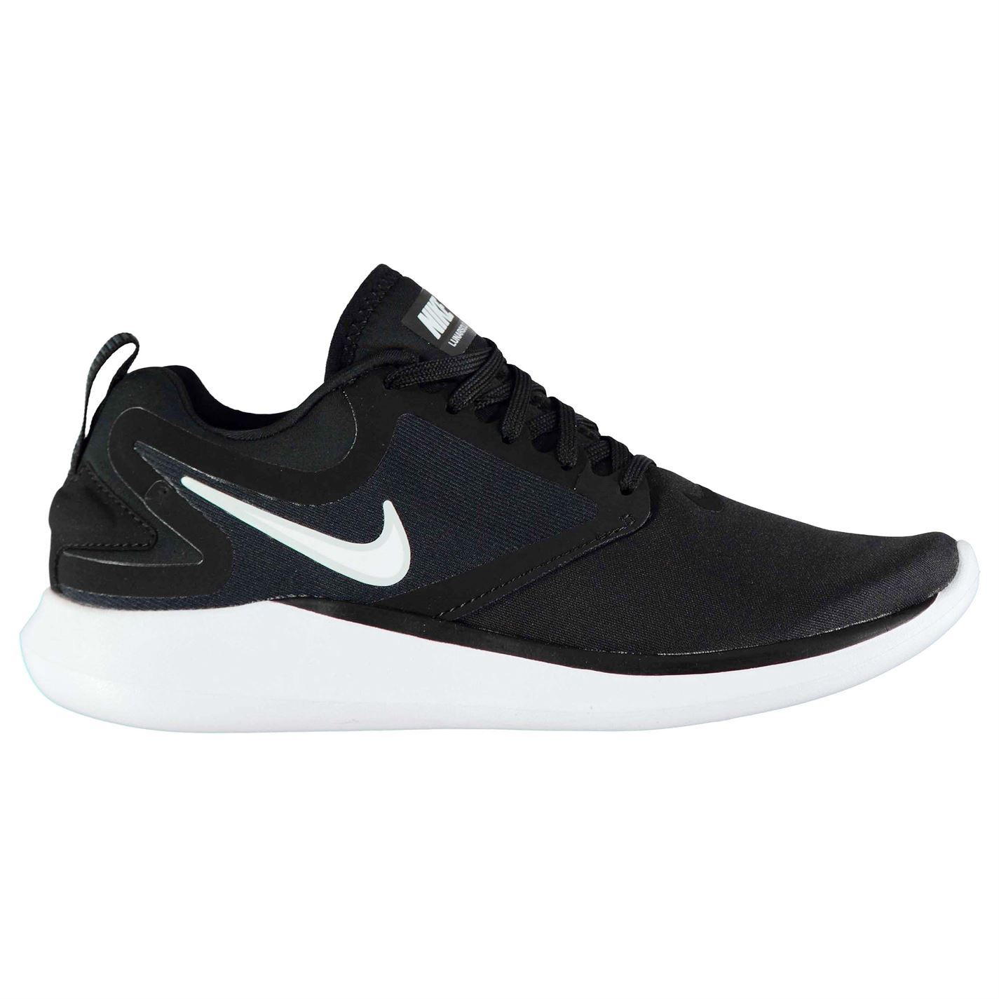 Details about Nike Lunar Solo Running Shoes Womens Black White Run Jogging  Trainers Sneakers 20b8c4276