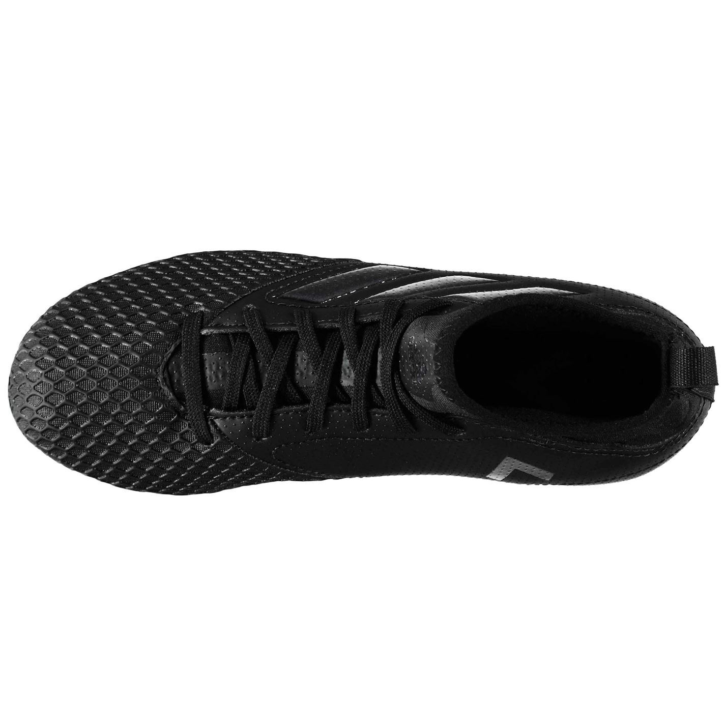 watch 5bba5 d70ea Details about adidas Ace 17.3 Primemesh Firm Ground Football Boots Juniors  Black Soccer Cleats
