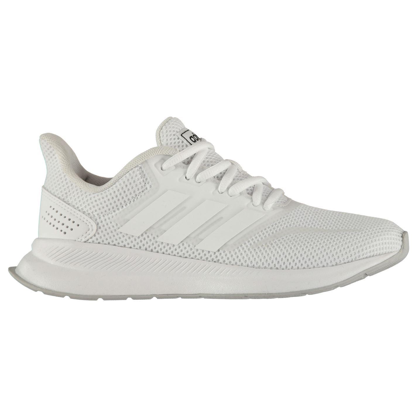 adidas-Falcon-Trainers-Junior-Boys-Shoes-Footwear thumbnail 9