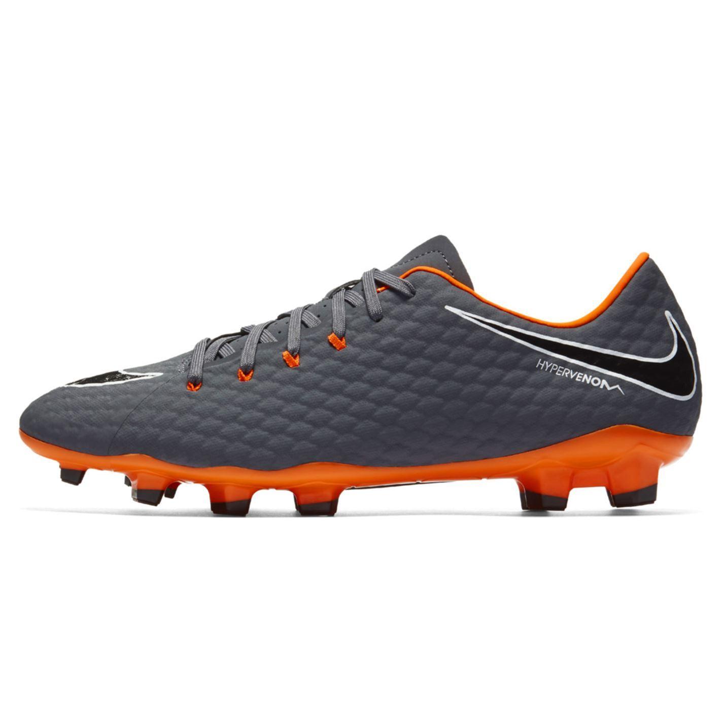 best service 20e64 f26dc ... Nike Hypervenom Phantom Accademia terra Football Boots Mens Gry calcio  tacchetta ...