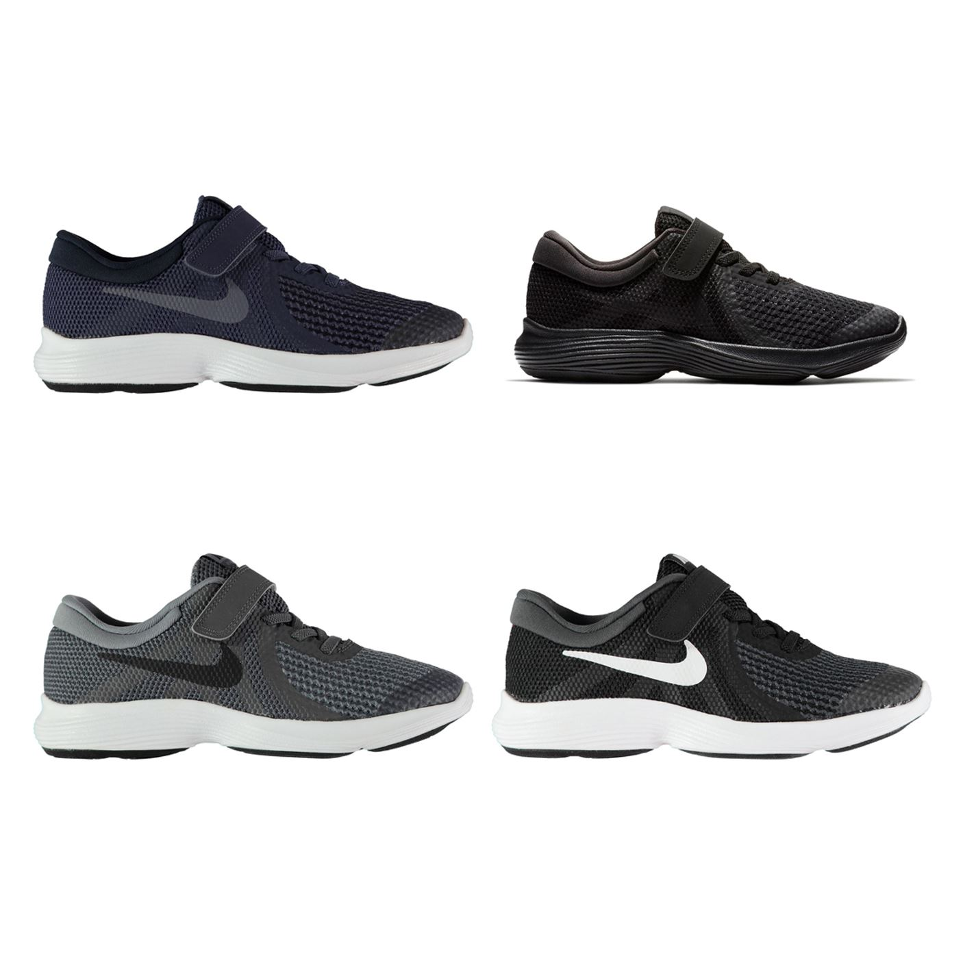 new style a97d2 20847 Details about Nike Revolution 4 Child Boys Trainers Shoes Footwear