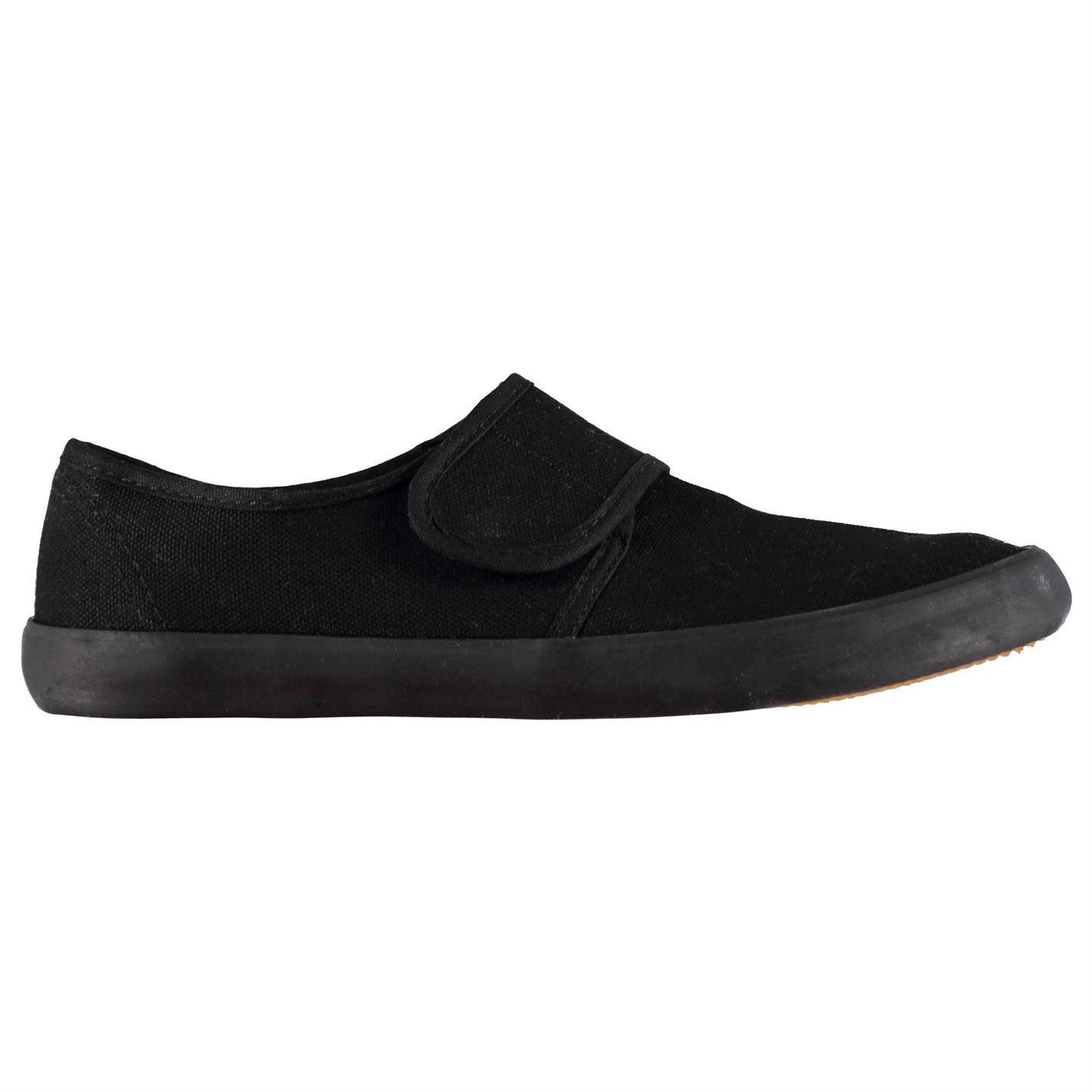 Slazenger BTS Girls Canvas Shoes Black