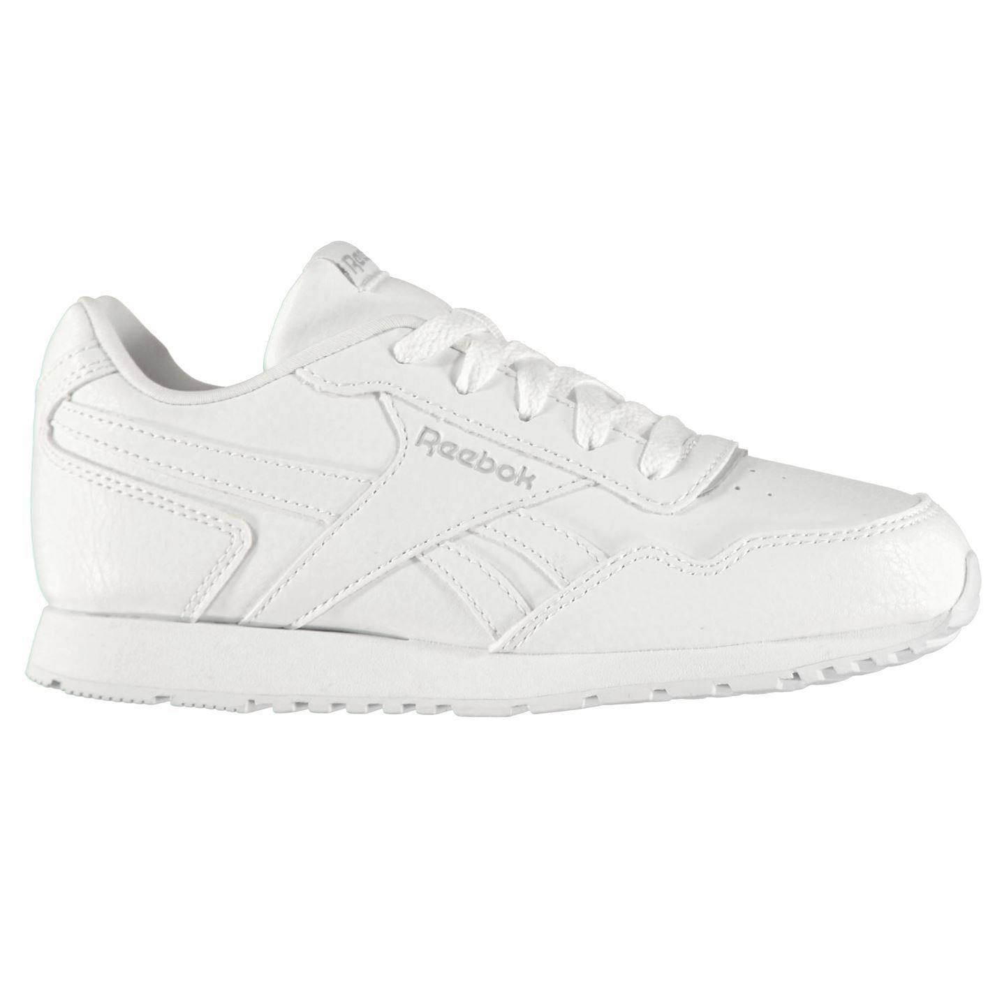 Reebok Classic Glide Junior Trainers Boys Shoes Casual White