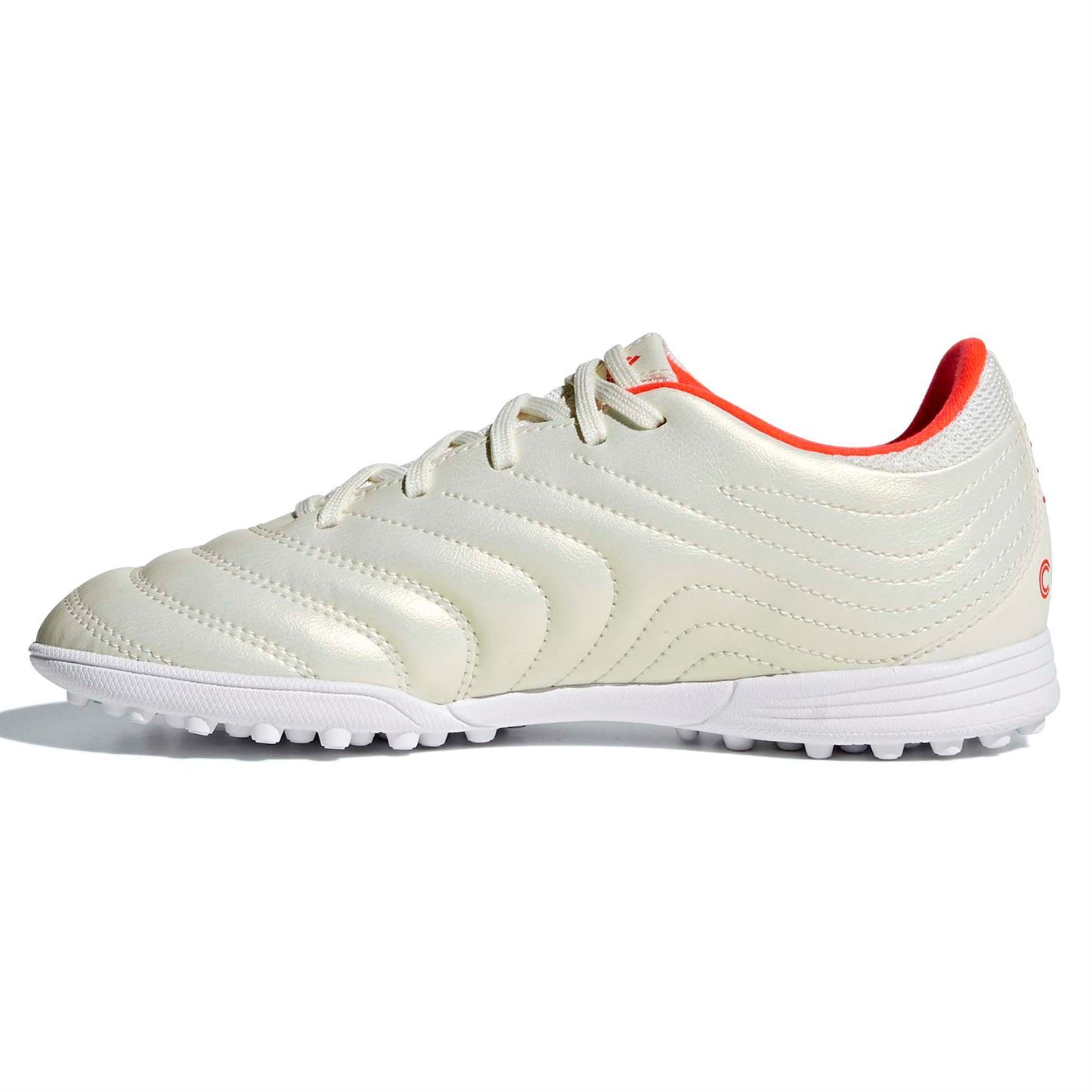 Details about adidas Copa 19.3 Astro Turf Football Trainers Juniors White Soccer Shoes