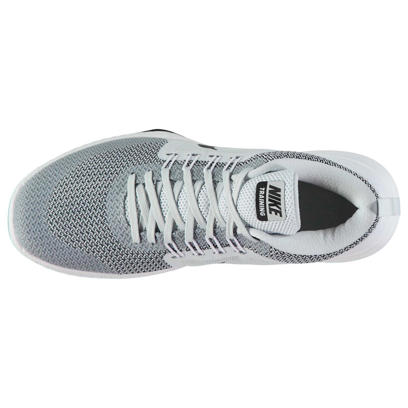 d5d2a83b18313 ... Nike Zoom Domination Fitness Training Shoes Mens Grey Black Trainers  Sneakers