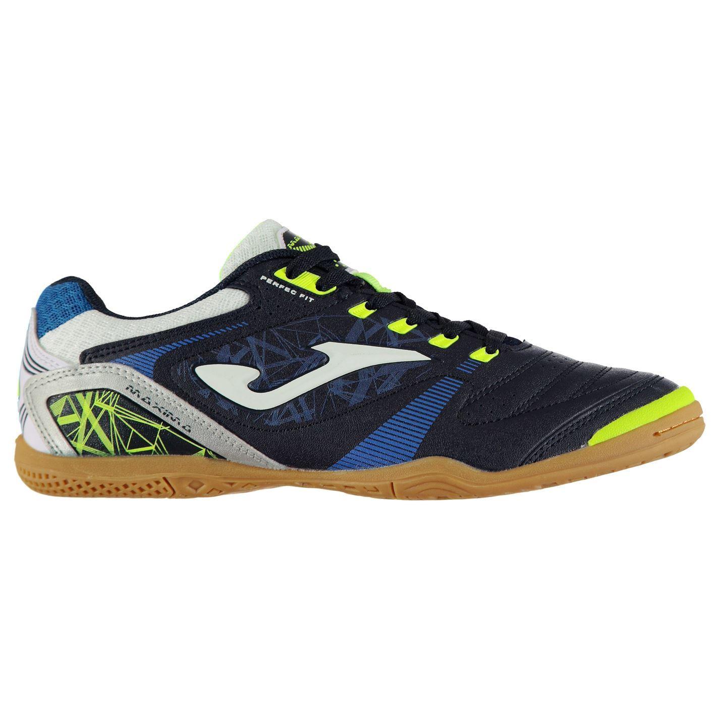 e4deef21c33 Joma Maxima Indoor Football Trainers Mens Soccer Futsal Shoes ...