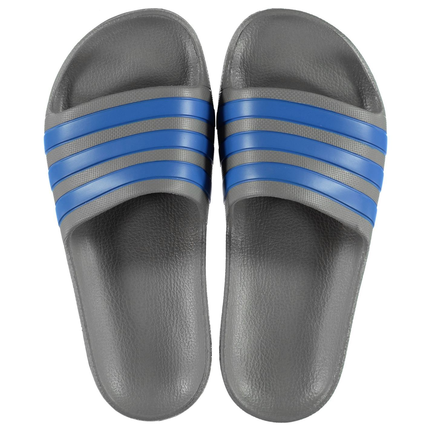 miniatura 19 - ADIDAS-Duramo-Slide-Piscina-Scarpe-Bambino-Ragazzo-Sandali-Infradito-Spiaggia-Scarpe-Thongs