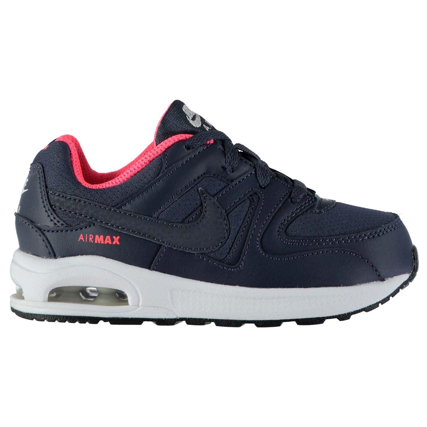 best service 8b53e 78ad4 ... Nike Air Max Command Junior filles bleublanc chaussures chaussures ...