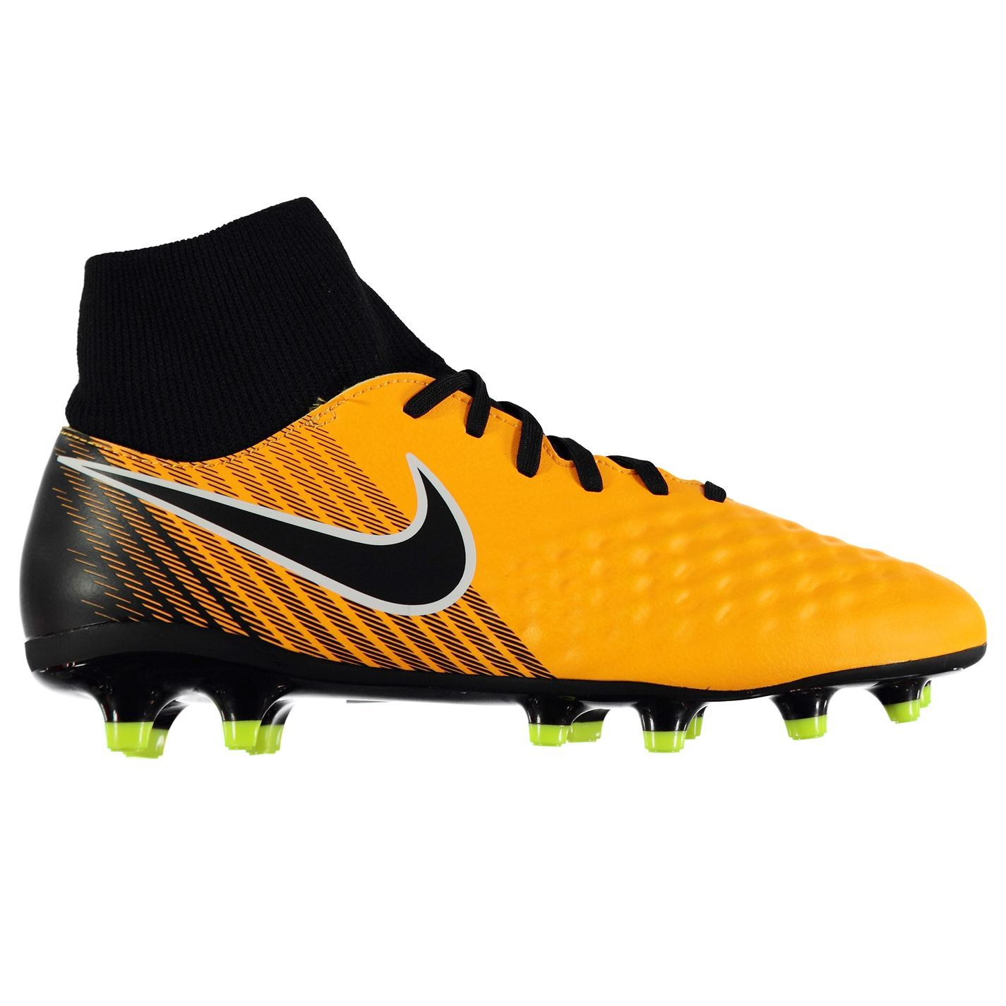 pretty nice 56925 52b29 Details about Nike Magista Onda II DF Firm Ground Football Boots Mens  Orange Soccer Cleats