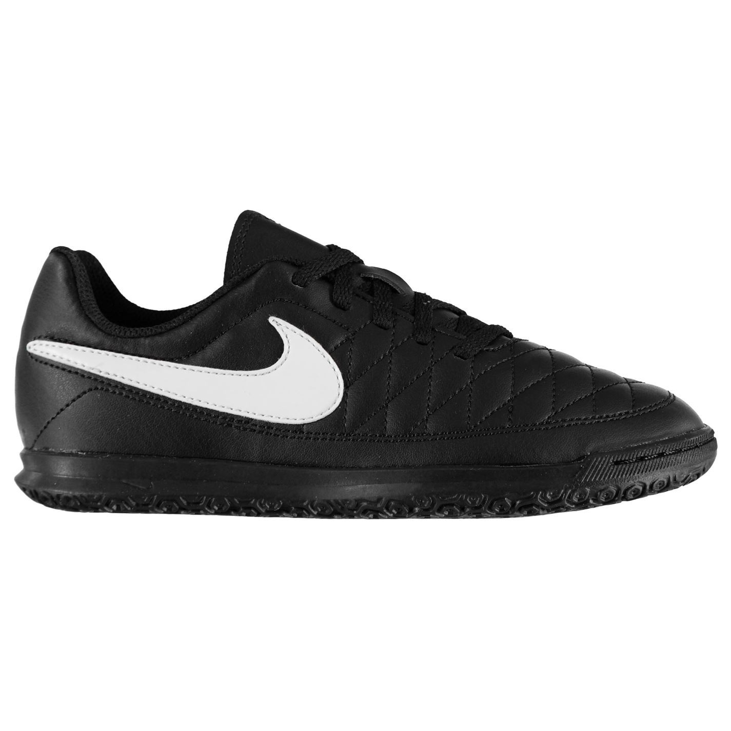 Nike-majestry-Indoor-Court-Football-formateurs-juniors-Football-Baskets-Chaussures miniature 8