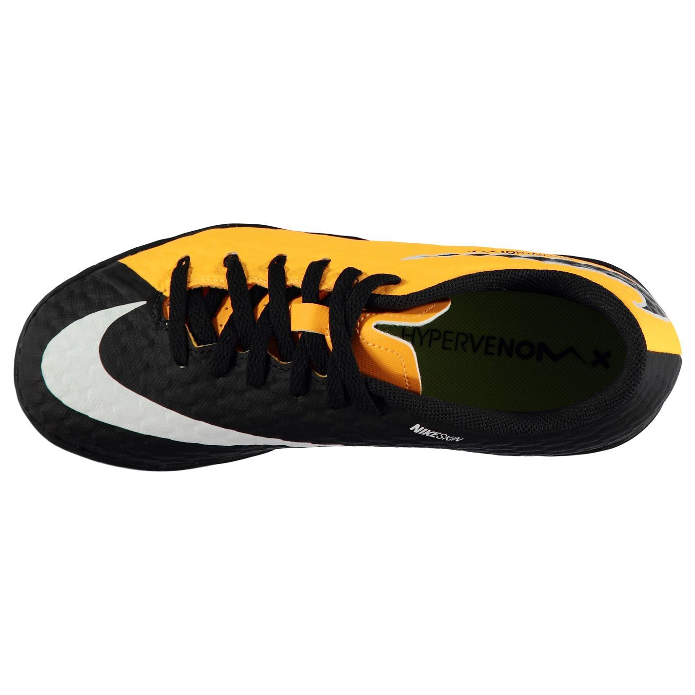 3edede769f0f ... Nike Hypervenom Phelon Astro Turf Football Trainers Juniors Orange  Soccer Shoes