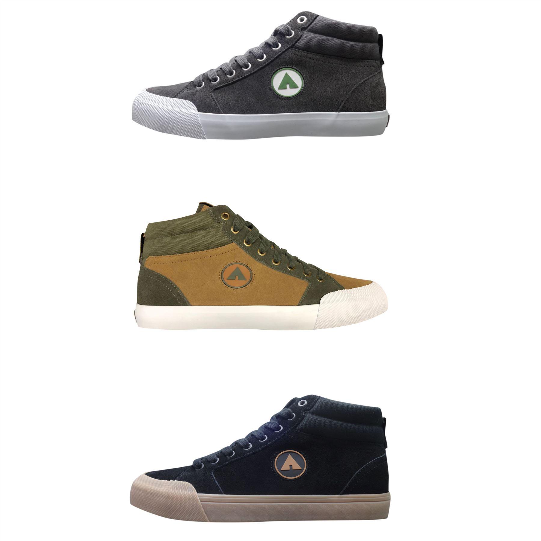 wholesale online in stock newest Details about Airwalk Pivot Mid Top Trainers Mens Skateboarding Footwear