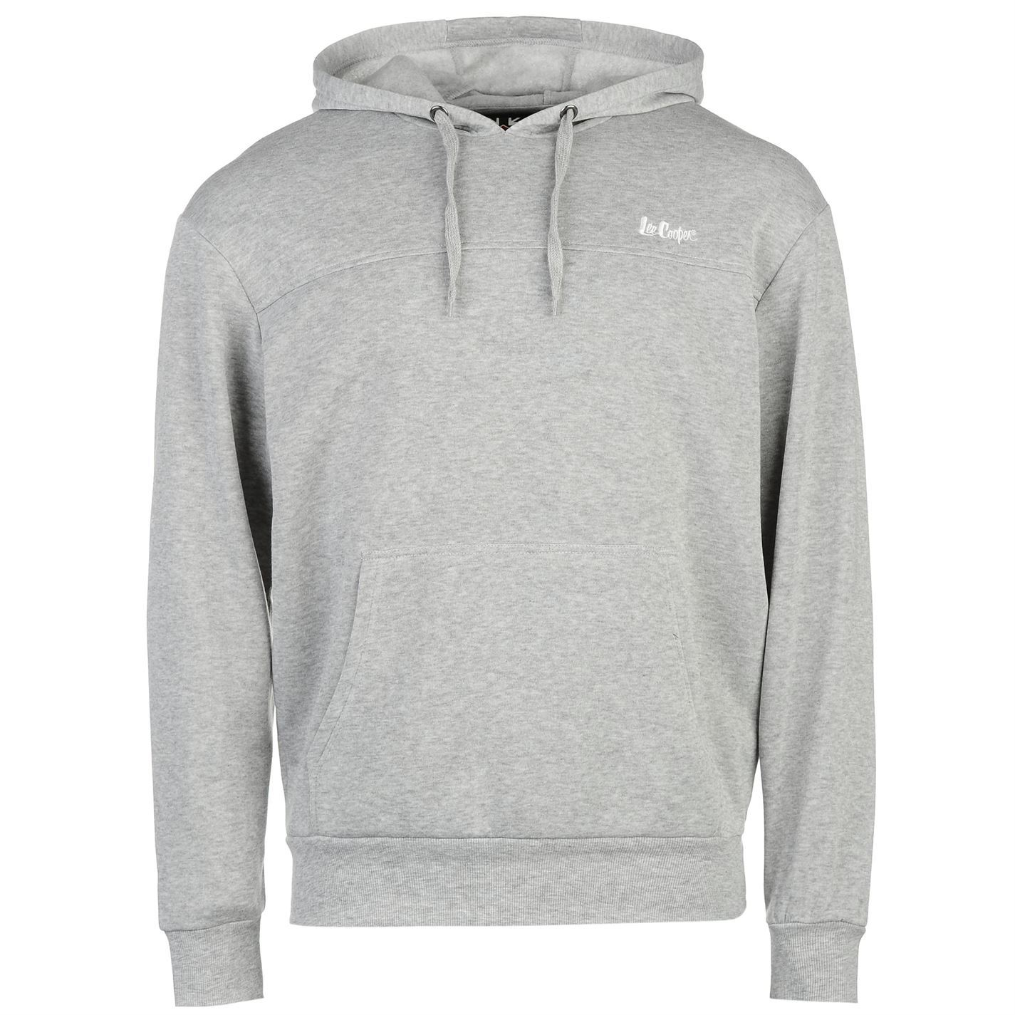 Details about Lee Cooper Pullover Hoody Mens Grey Hoodie Sweater Sweatshirt  Top 5cb3043b893f
