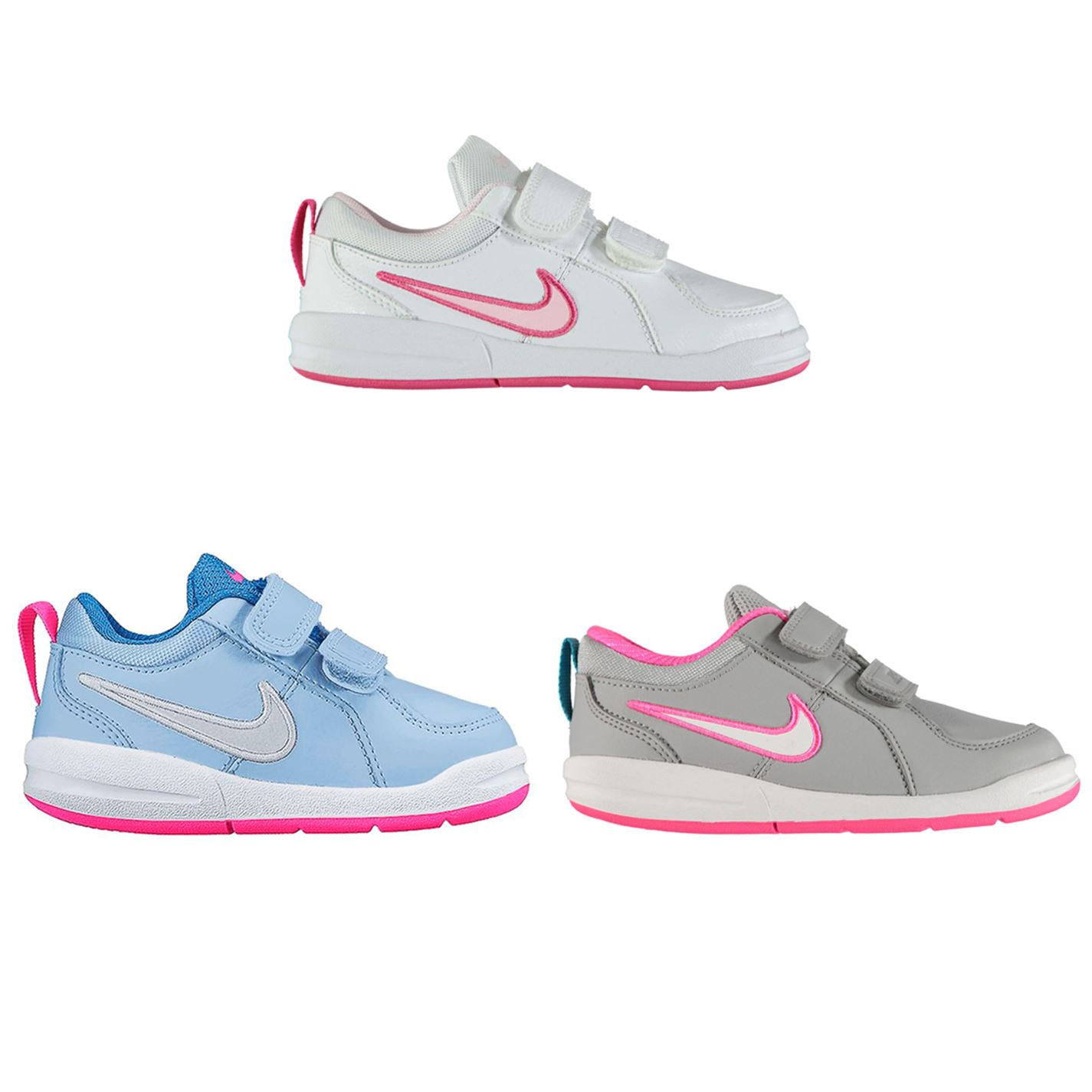 to buy 599ca d4ed5 ... Nike Pico 4 Infant Girls Trainers Shoes Footwear ...