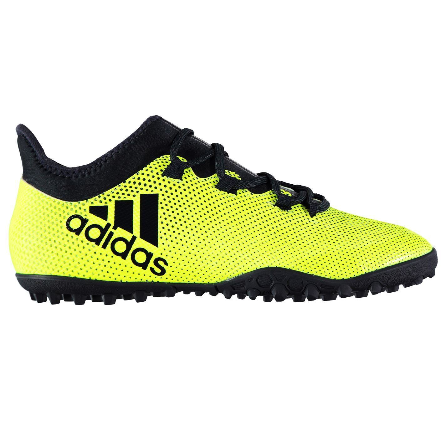 sale retailer 15646 4f748 Details about adidas X Tango 17.3 Astro Turf Football Trainers Mens  Yellow/Ink Soccer Shoes