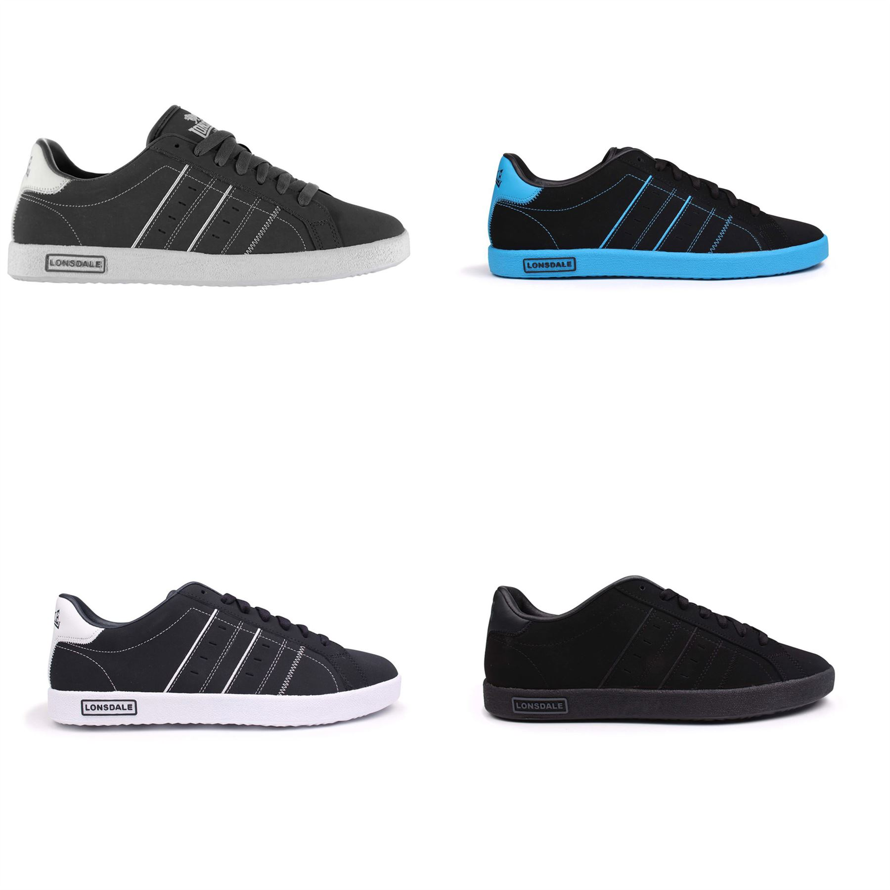 Lonsdale Oval Trainers Mens Shoes
