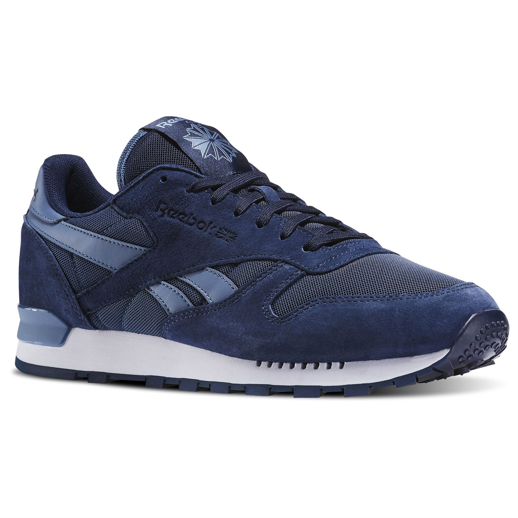 106d6ab2748 ... Reebok Classic Leather Clip Elements Trainers Mens Sneakers Shoes  Footwear ...