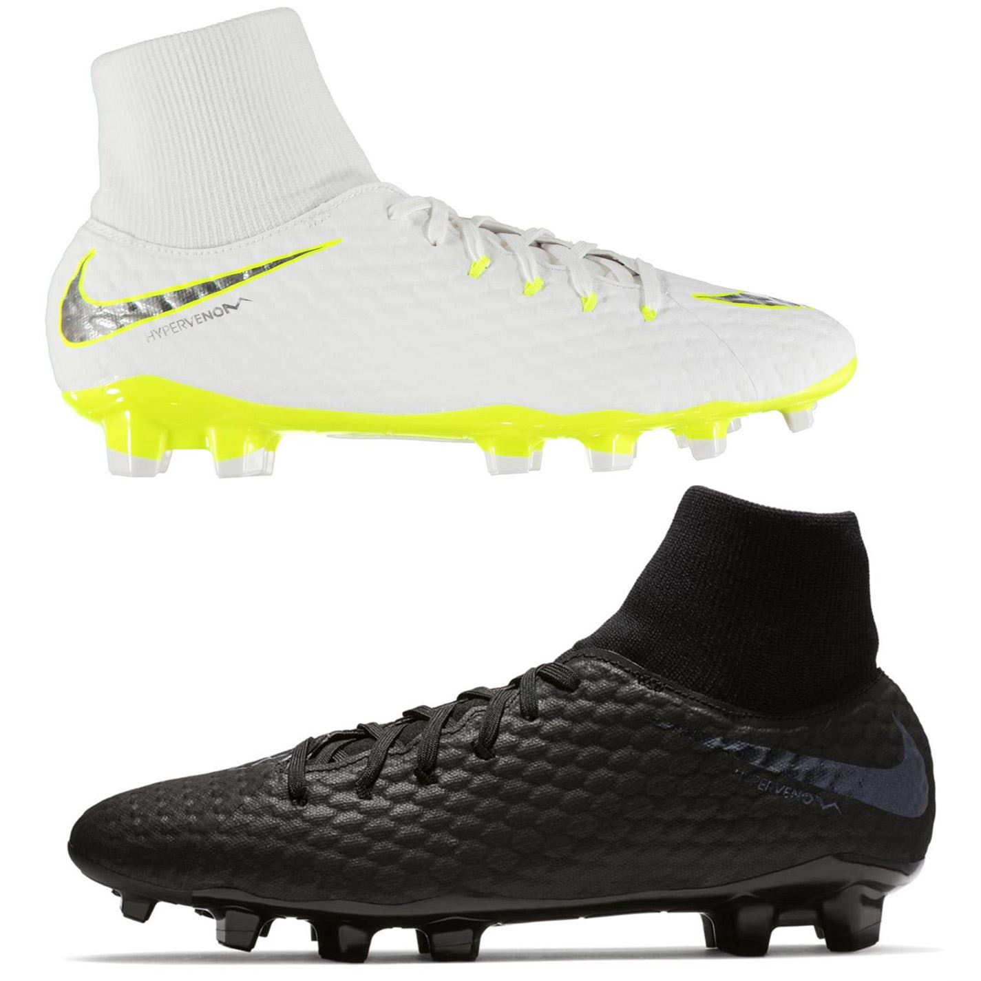 90a71e511 ... Nike Hypervenom Phantom Academy DF Firm Ground Football Boots Mens Soccer  Cleats ...